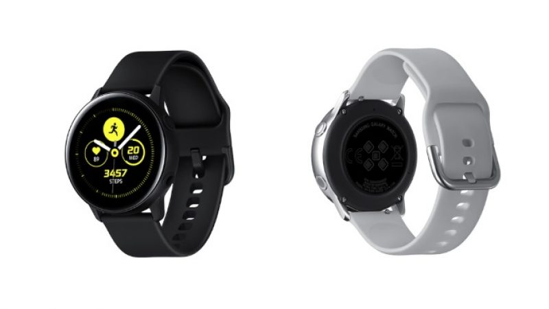 Galaxy Watch Active 2 : de nouveaux clichés publiés sur la Toile