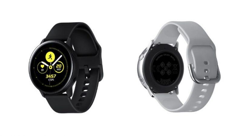 Galaxy Watch Active 2 : Samsung intègrerait un ECG afin de s'aligner avec l'Apple Watch