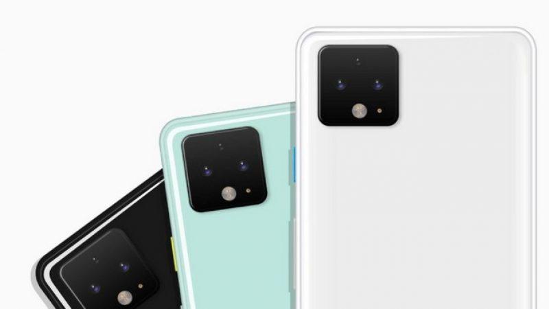 Google Pixel 4 : le smartphone haut de gamme se montre un peu plus dans des fuites