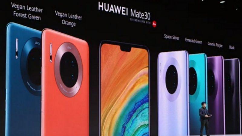Huawei confirme que son Mate 30 haut de gamme arrivera bien en France avant la fin de l'année