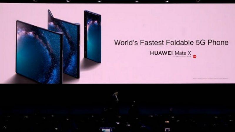 Huawei Mate X : une vidéo de prise en main, en attendant la commercialisation du premier smartphone pliable de la marque