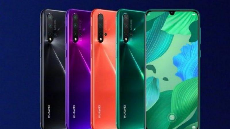 Huawei annonce ses smartphones Nova 5i, 5 et 5 Pro