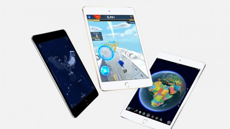 Apple prévoirait 5 nouveaux modèles d'iPad pour la rentrée