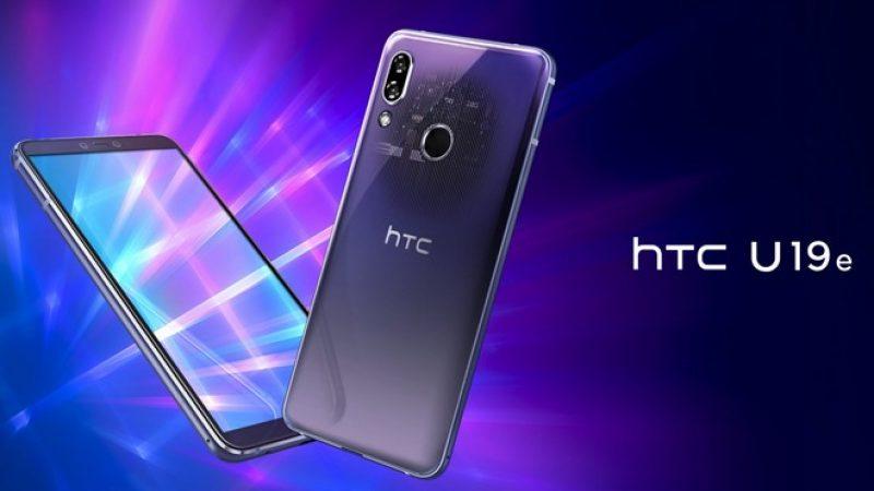 HTC U19e et Desire 19+ : smartphones 6 et 6,2 pouces avec double ou triple capteur photo pour le milieu de gamme