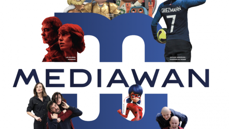 Mediawan (Xavier Niel) s'empare de 33% d'une société de production française