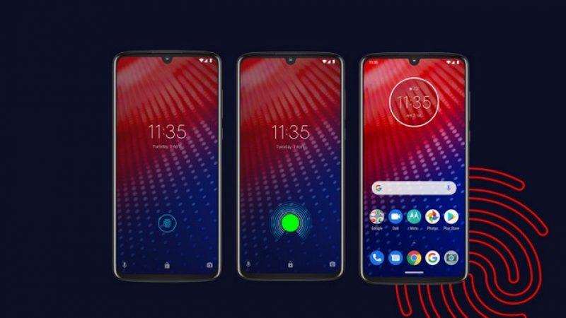Moto Z4 : smartphone proposant de la photo 48 Mégapixels et une compatibilité avec les modules Moto Mods