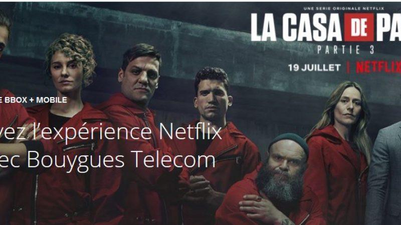 Bouygues Telecom lance une promo avec Netflix inclus pendant 12 mois
