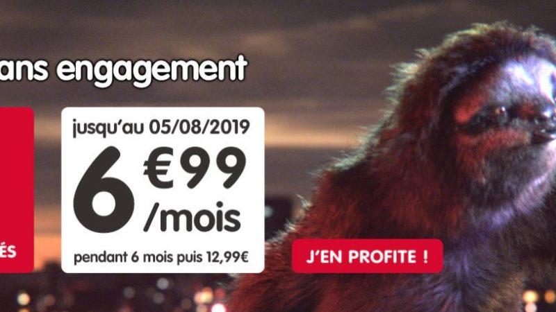 NRJ Mobile propose son forfait 60Go en promotion pour 6.99€ par mois