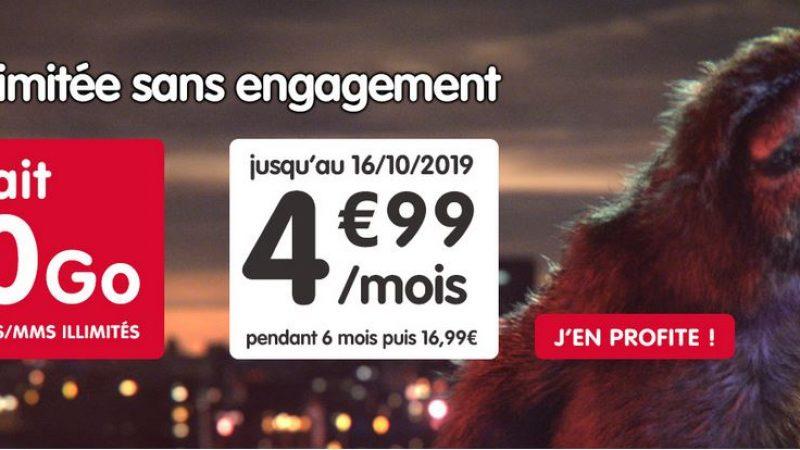 NRJ Mobile lance une nouvelle promo sur son forfait 60 Go sans engagement
