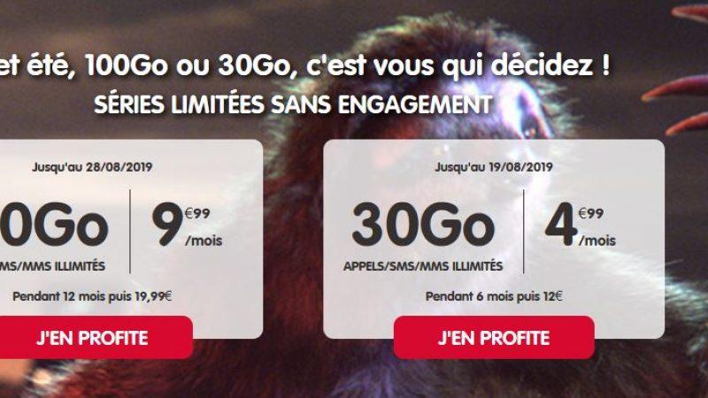 NRJ Mobile donne le choix entre deux forfaits en promo pour les gros ou petits consommateurs de data