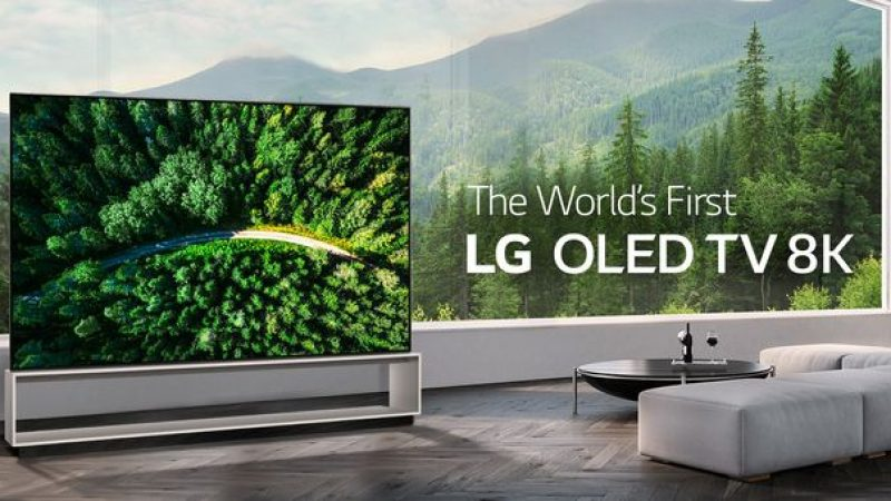 LG Signature OLED 8K : le nouvel écran géant 8K de LG est désormais disponible