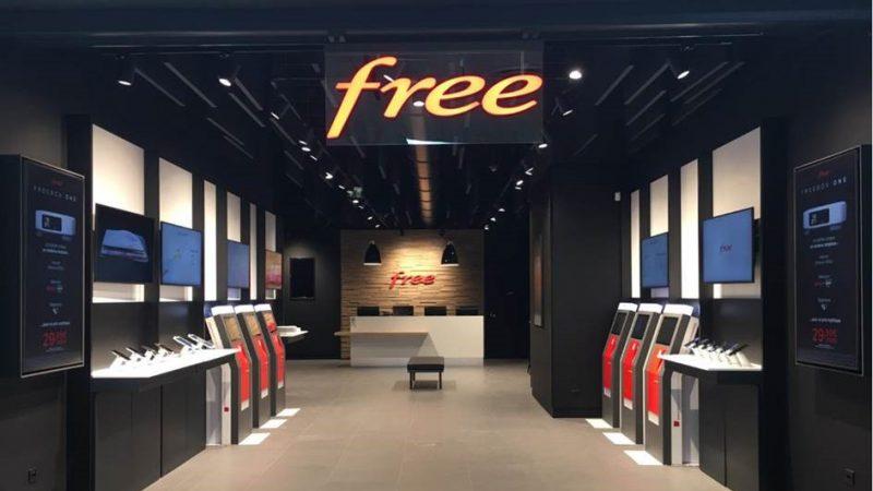 Free : l'ouverture du 62ème Free Center en images