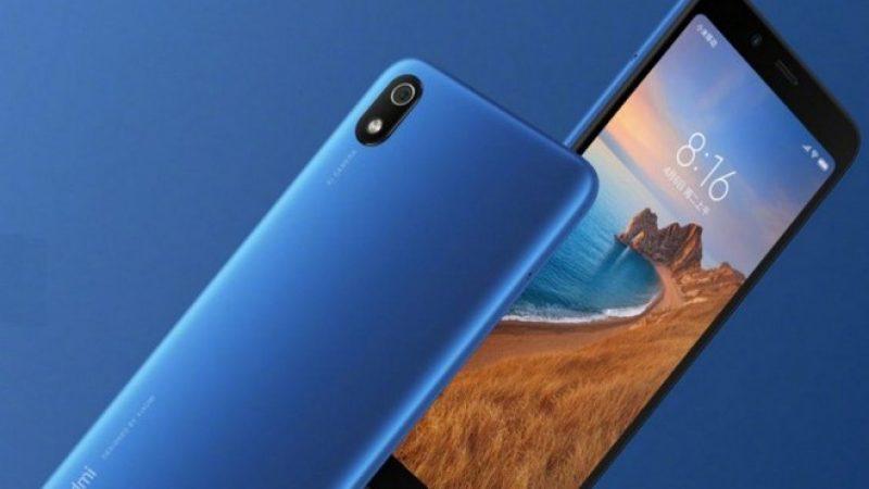 Le smartphone Redmi 7A à petit prix arrive en France