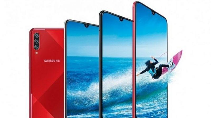 Samsung Galaxy A70s : la firme dévoile son premier smartphone avec capteur photo 64 Mégapixels