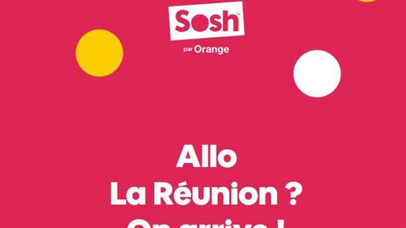 Sosh : officialisation de la date de lancement à la Réunion pour rivaliser avec Free Mobile
