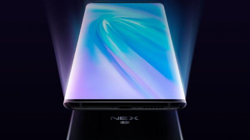 Vivo Nex 3 : le nouveau smartphone de la marque doté d'une surface d'affichage de 99,6%