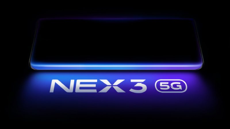 Vivo dévoilera son Nex 3 doté d'un écran révolutionnaire « ultra incurvé » en septembre