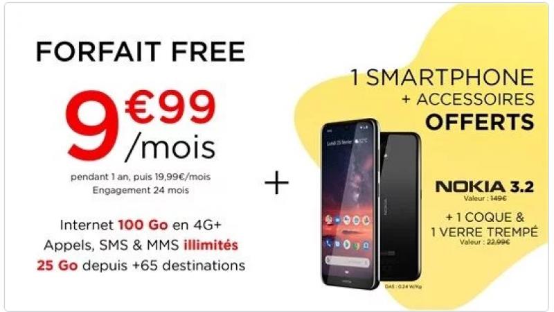 Free Mobile : la vente privée avec un smartphone offert est prolongée