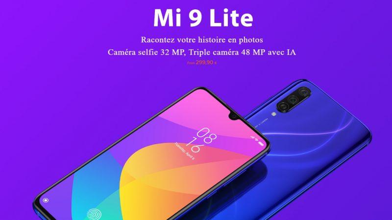 Xiaomi annonce le Mi 9 Lite en France, un smartphone de milieu de gamme gâté au niveau de la photo