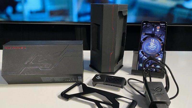 Univers Freebox a pu tester l'Asus ROG Phone II, un smartphone suréquipé qui est aussi une vraie console de jeu