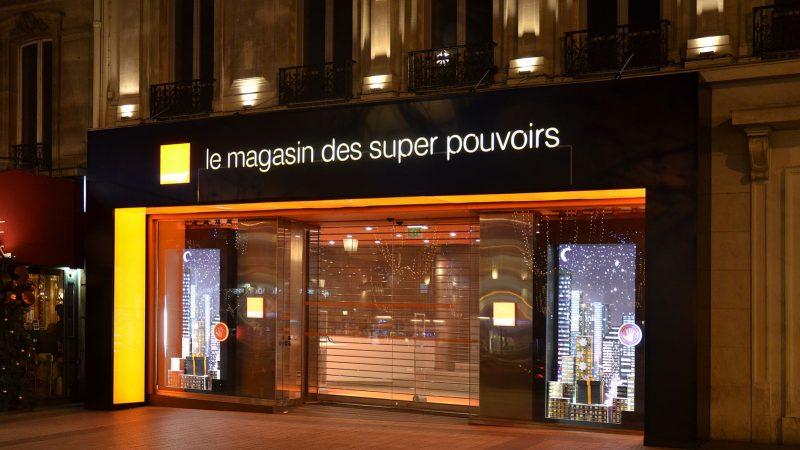 Clin d'oeil : une Livebox 5 éco-responsable mais des boutiques Orange pleins phares jusqu'à 22h