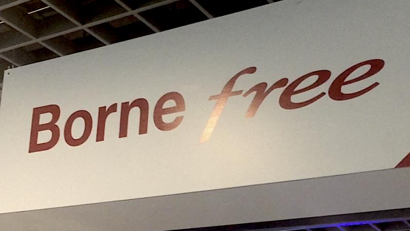 En images : à la découverte d'une borne Free pas comme les autres à la Fnac