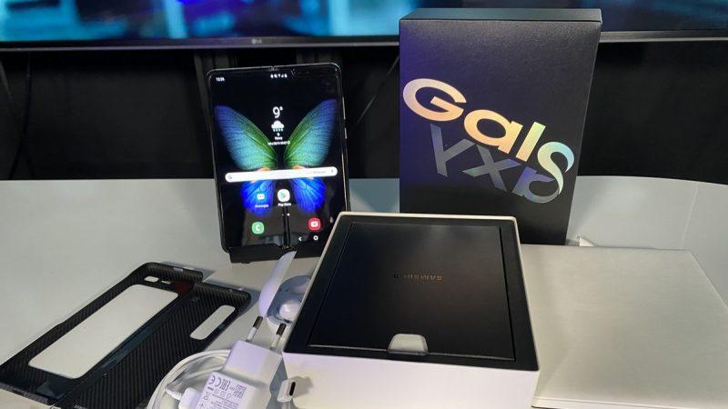 Univers Freebox a pu tester le Galaxy Fold, premier smartphone avec écran pliable de Samsung