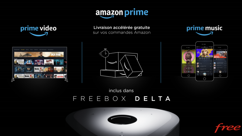 L'arrivée de Prime Video d'Amazon chez Free porte déjà ses fruits, Netflix en pâtit