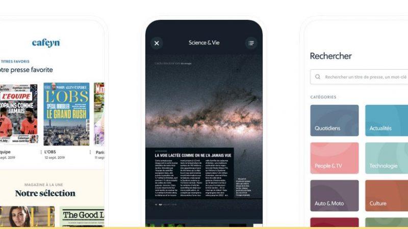 Freebox Delta: le service de presse Cafeyn (ex-LeKiosk) se met à jour pour améliorer ses performances sur tous ses supports mobiles