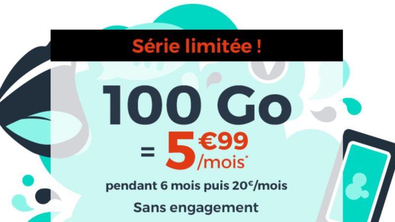 Cdiscount Mobile propose une nouvelle promo avec 100Go/mois pour 5.99€