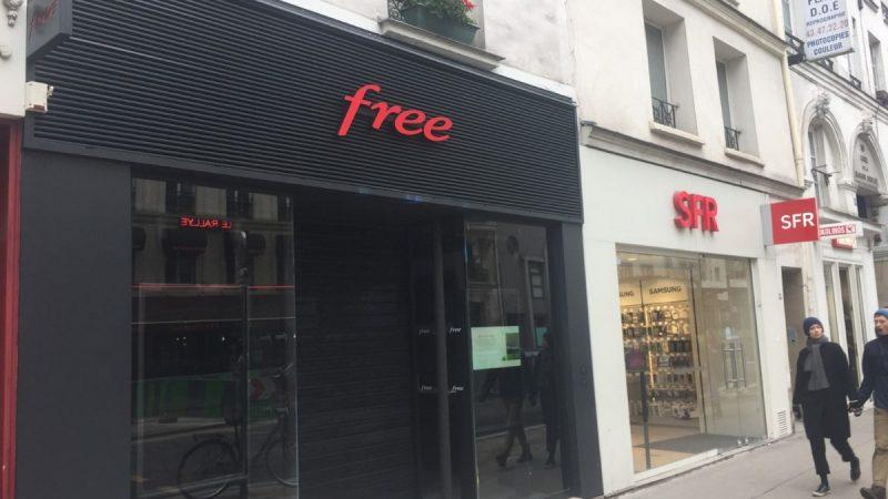 Free officialise l'ouverture de trois nouvelles boutiques à Paris