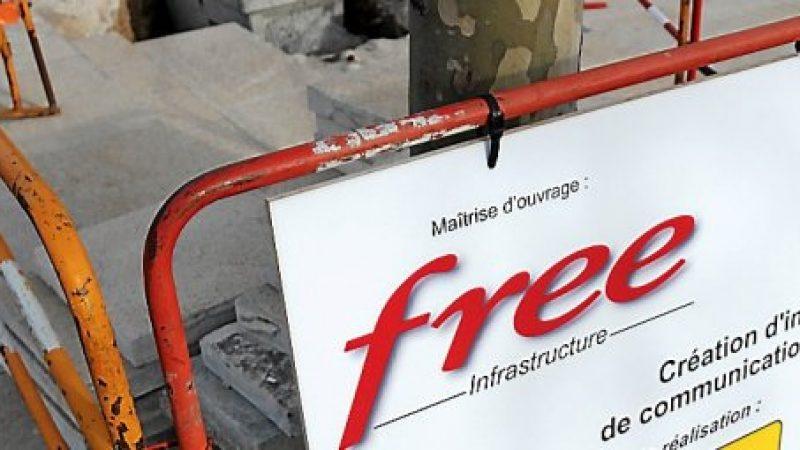 Mise à jour de l'application Free-Réseau, qui permet de connaitre l'état du réseau ADSL et fibre de Free