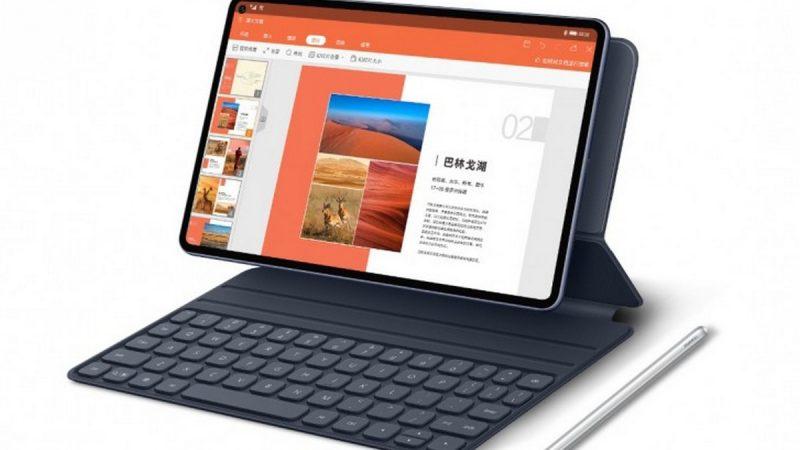 MatePad Pro : Huawei dévoile sa nouvelle tablette haut de gamme avec Android 10 et une possibilité de 4G