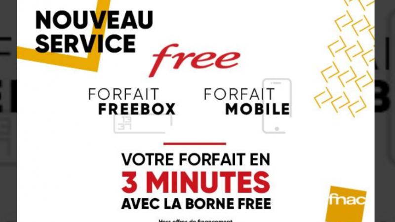 Les offres de Free désormais disponibles dans les Fnac, avec une offre spéciale sur le forfait Freebox