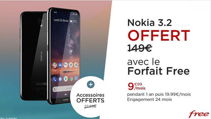 Offre spéciale Free Mobile avec forfait à moitié prix et smartphone offert: c'est reparti pour un tour