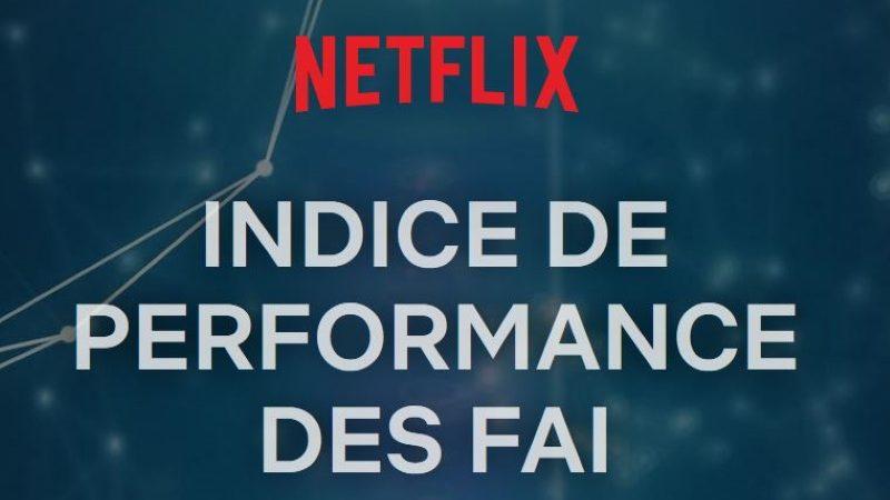 Débits sur Netflix en France : Free continue de remonter, creusant l'écart avec le dernier du classement