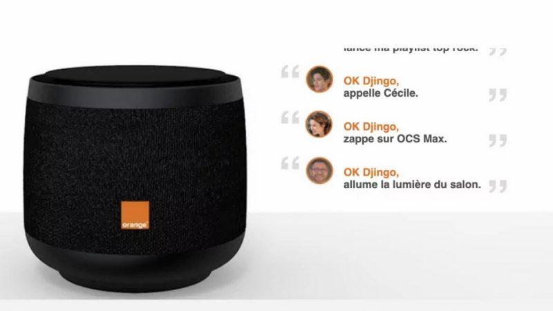 Djingo : Orange présente l'usage de l'assistant vocal avec son enceinte connectée ou son décodeur TV