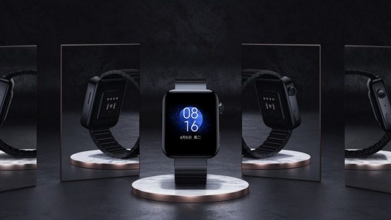 Mi Watch : Xiaomi annonce sa montre connectée avec interface MIUI et compatibilité 4G