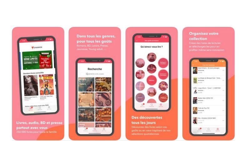 Youboox : le service de lecture en streaming, accessible aux abonnés Free, se met à jour sur iPhone et iPad