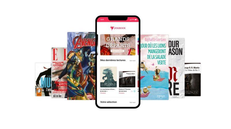 Youboox, le service de lecture en streaming offert aux abonnés Free, se met à jour sous Android