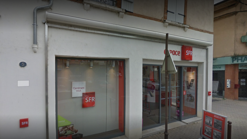 Clin d'oeil : un braquage d'une boutique SFR capote grâce à un employé