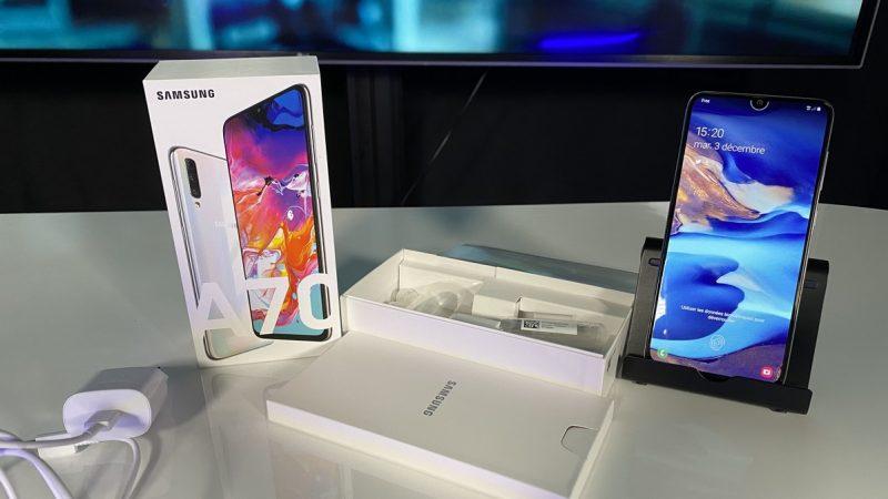Univers Freebox a testé le Samsung Galaxy A70, un smartphone grand format avec quelques atouts