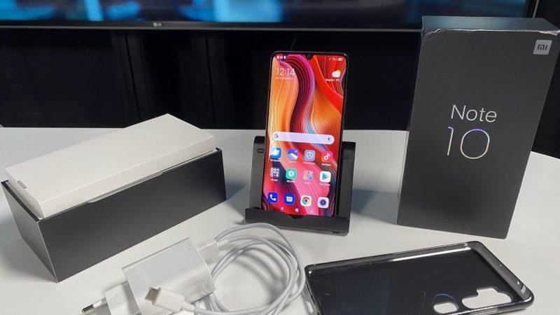 Univers Freebox a testé le Xiaomi Mi Note 10, un smartphone misant à fond sur la photo et l'autonomie