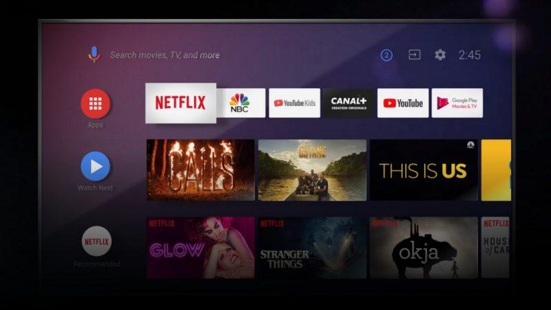 Téléviseurs connectés : le système Android TV passe en version 10