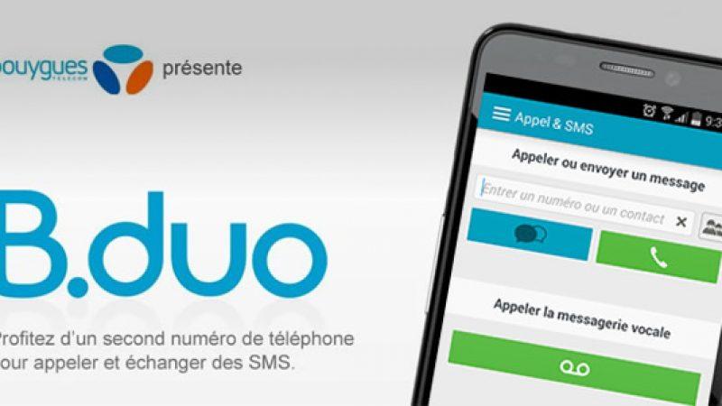 Clap de fin imminent pour le service B.duo de Bouygues Telecom