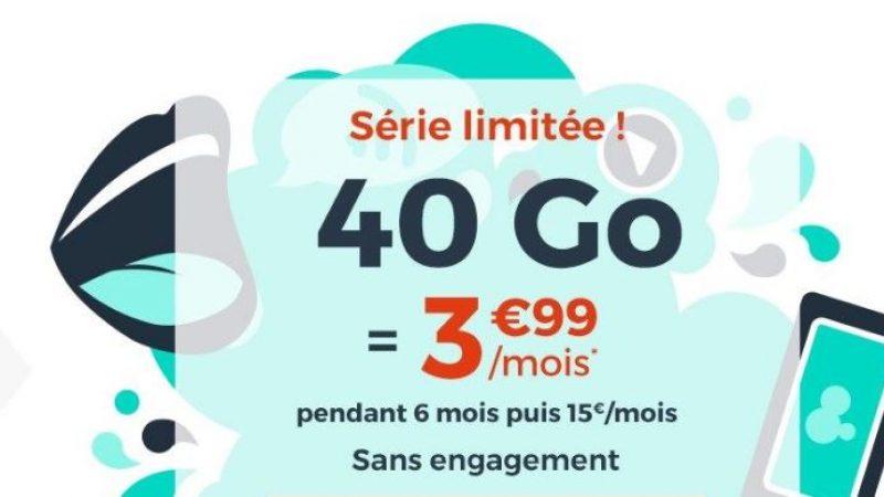 Cdiscount Mobile lance une nouvelle série limitée avec un forfait 40 Go