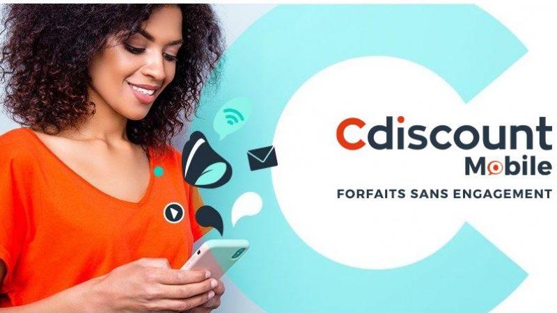 Cdiscount Mobile lance une nouvelle série limitée avec 30Go pour 2.99€/mois