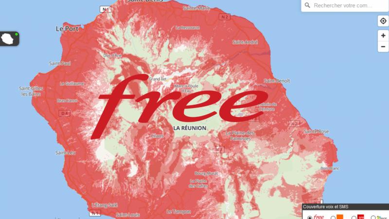 monreseaumobile.fr campagne ARCEP 2019 : malgré son retard Free progresse à son rythme à La Réunion