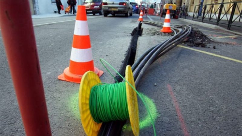 Les livraisons de câbles à fibre optique chutent de 20% au troisième trimestre en France, la filière s'inquiète
