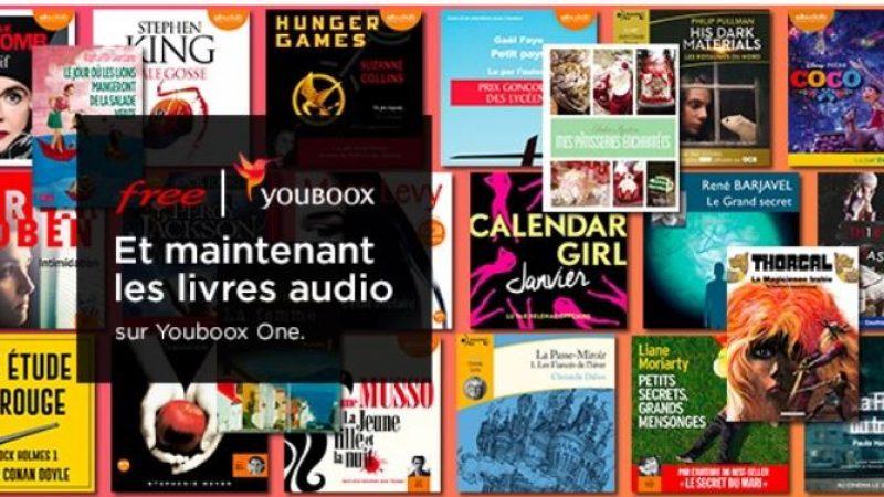 Univers Freebox a testé pour vous les livres audio prochainement inclus par défaut chez Free
